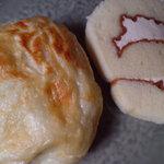 ボンジュール・ボン - カマンベールパンとミルクロール
