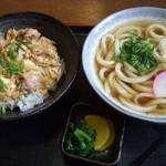 久米 - 親子丼セット