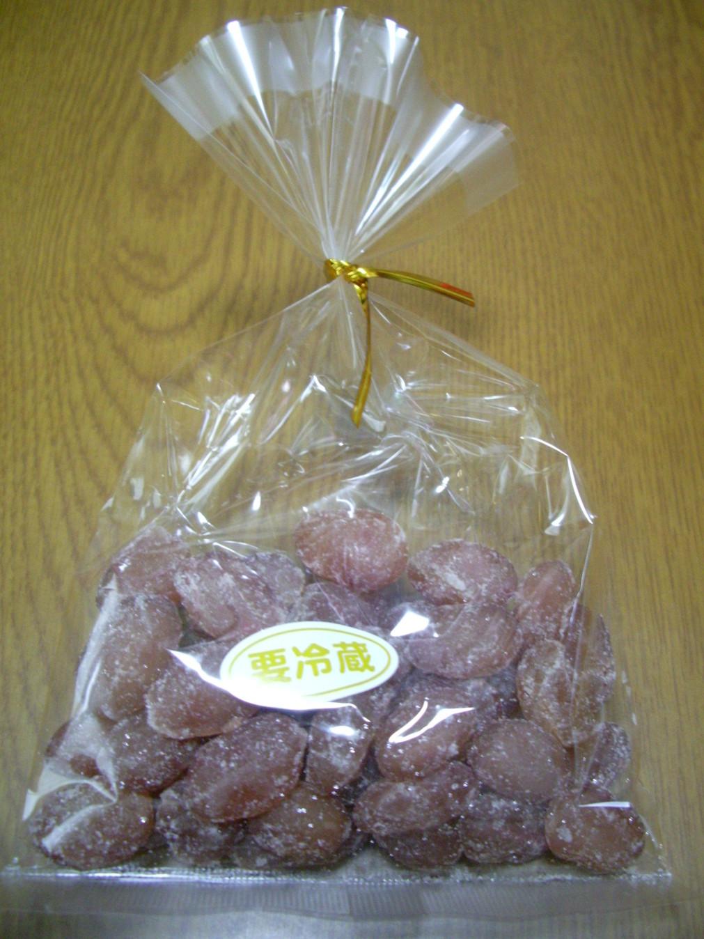 飛鳥山関の甘納豆