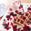 カフェ チェリーブロッサム - 料理写真:ワッフル