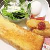 ビリオン珈琲 - 料理写真:プレミアムトーストモーニング