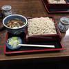 花屋 そば店 - 料理写真:鴨汁セイロ