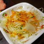 焼肉三松 - サラダ