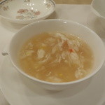 35130847 - 卵入りふかひれスープ