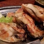35139927 - 「牡蠣のステーキ」 バターしょう油味・・・ホンマはガーリック利かせたたかったけど。。。