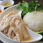 松記鶏飯 - 海南鶏飯(大)-昼
