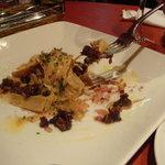 赤坂スペインクラブ アラ - 絶品「フォアグラ」の前菜♪