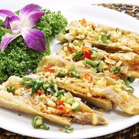 マテ貝の塩胡椒揚げ(季節料理)