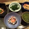 みちのく肴蔬 竹家 - 料理写真:先付け。東京でお目にかかれない「ぎばさ」、はたはたのいずし、ほか秋田の食材各種、能登のほやその他色々。