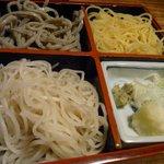 凡味 そばきり - 3色蕎麦