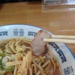 生姜ラーメン みづの - 630えん『しょうがラーメン』2015年2月