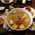 35168934 - フォー麺 ピリ辛豚挽肉