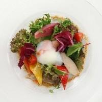 彩り野菜のグレック マスタードヴィネグレット