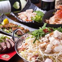 広島の鉄板料理を味わえる飲み放題付コースは3500円~
