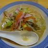 リンガーハット - 料理写真:ピリカラちゃんぽん (味噌ラーメン風スープ)