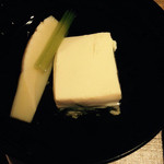 35208164 - 清汁仕立て織部豆腐 筍 蕗