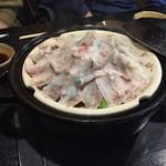 35225492 - アグー豚の蒸し鍋