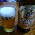 あつた蓬莱軒 - エビスビール