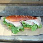 パリの空の下 - 料理写真:豚フィレのスービット