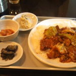 韓国家庭の味 いなか家 - 今日のランチ
