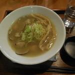 麺家 西陣 - あさりラーメン普通¥750-