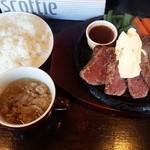 がっつりステーキ - 【2015/2】1ポンドステーキ 2,000円