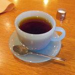 チロルカフェ - コーヒー カップが半透明