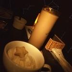 星カフェ SPICA - ジュピター リキュールのアイスクリーム