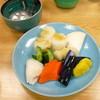 銀座しも田 - 料理写真:漬物 (*`Д´)ノ!!!
