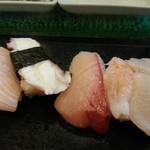 幸寿し - 鮃、海老、鰤、蛸、カジキ