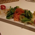 小皿イタリアン バロンドール - 鮮魚のカルパッチョ(750円)(2014/8)