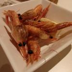 小皿イタリアン バロンドール - 海老のフライ(値段失念)(2014/8)