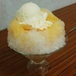 やぎや - やぎや@館林 果汁入りクリームオレンジ