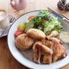 カスターニエ 軽井沢ローストチキン - 料理写真:1/2チキンランチプレート¥1800(ドリンク付)