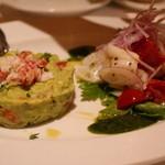 トラットリア タンタボッカ - 前菜2種
