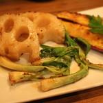 ブラーチェ・エ・ヴィーノ・ジジーノ - 焼き野菜盛り合わせ