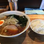 麺屋 蕾 - ラーメンごはんセット