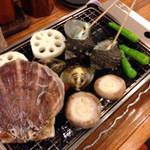 波平 - 貝は活きていますよ!(^^)