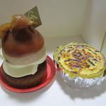 御献上カスティーラ - 料理写真:マロンタルトとミルクチーズケーキ