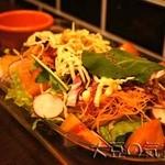 京ちゃばな - 10品目のグリーンサラダ