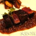 京ちゃばな - 国産黒毛和牛のステーキ