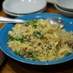 蔡菜食堂 - 焼豚とレタスの炒飯
