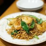 蔡菜食堂 - 海老と野菜の焼きそば