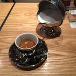オモテサンドウコーヒー - エスプレッソリストレット2015年バージョン(350円)