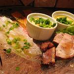 bene pesce - 前菜盛り