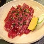 焼肉割烹 松阪 - とっくり肉は太ももの肉です♪