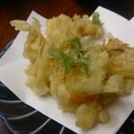 天ぷら懐石 いせ - かきあげ