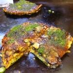 35315618 - 牡蠣のお好み焼き