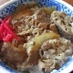 郷土料理 庄ヤ - ミニ牛丼