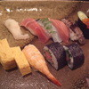 たぬき鮨 - 料理写真:上にぎり(\2160)